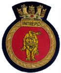 INTREPID - Blazer Badge~OFFICIALLY LICENCED PRODUCT